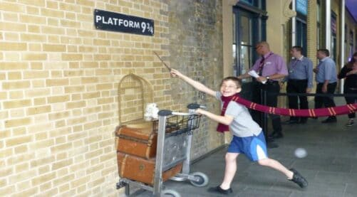 Harry Potter railway station